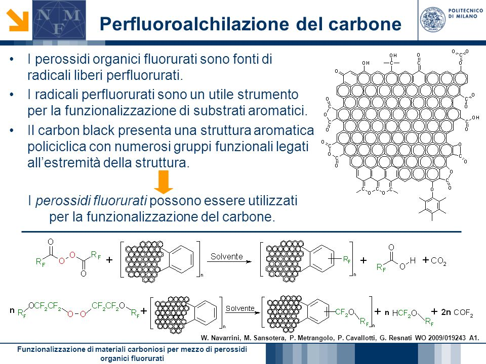 A novel method for the fabrication of silica microfluidic devices Preparation of highly pure Carbonyl Difluoride Sinthesis of Acil-fluorides suitable for perfluoro- peroxide synthesis The use of perfluoro-methyl-hypofluorite as a fluorinating and metoxilation agent of substituted aromatic substrates