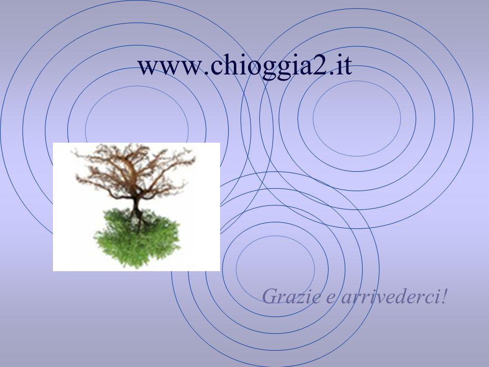 www.chioggia2.it Grazie e arrivederci!