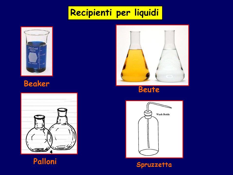 Recipienti per liquidi Beaker Beute Palloni Spruzzetta