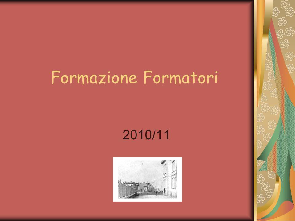 Formazione Formatori 2010/11