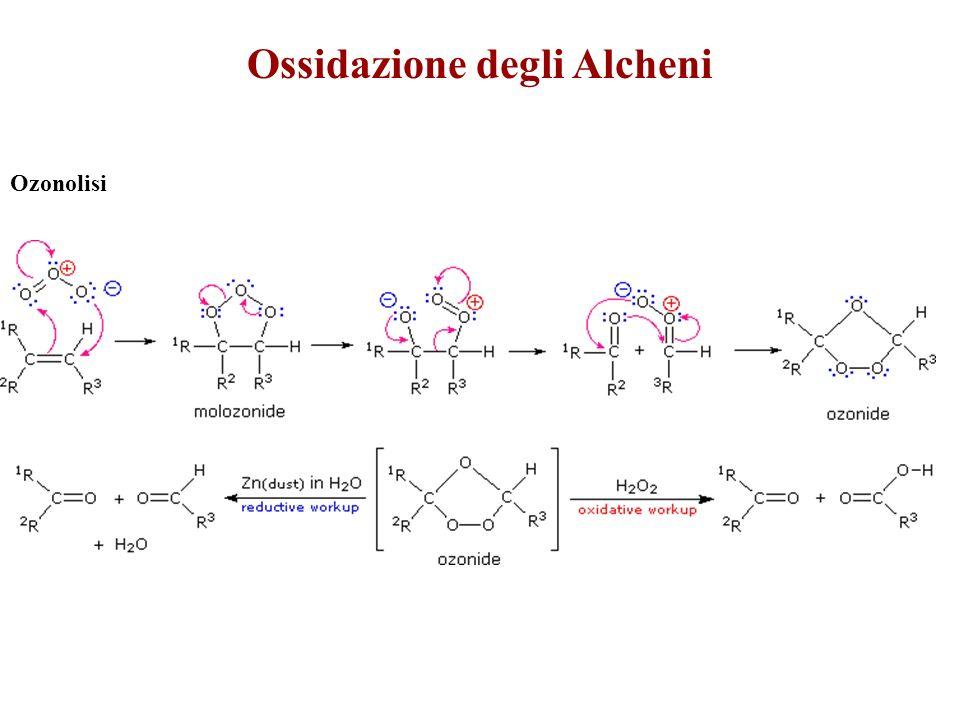 Ossidazione degli Alcheni Ozonolisi