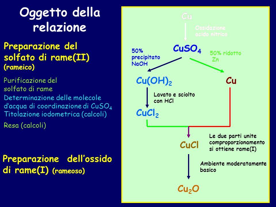 3-r) Bilanciamento della semireazione di riduzione A) Bilanciare la massa dell elemento che si riduce (Ok) B) Aggiungere elettroni tra i reagenti per compensare il cambio di numero di ossidazione (5 2, 3 elettroni reagenti) C) Bilanciare la massa degli altri elementi senza cambiare il loro stato di ossidazione In soluzione acida si introduce (se necessario) acqua e ioni H+ HNO 3 NO HNO 3 +3e NO HNO 3 +3e NO +2H 2 O HNO 3 +3e +3H + NO +2H 2 O D) Al termine verificare che è stato rispettato il bilancio di carica 0 = 0 (Ok) Bilanciato l ossigeno introducendo 2 molecole d acqua Bilanciato l idrogeno introducendo 3 ioni H +