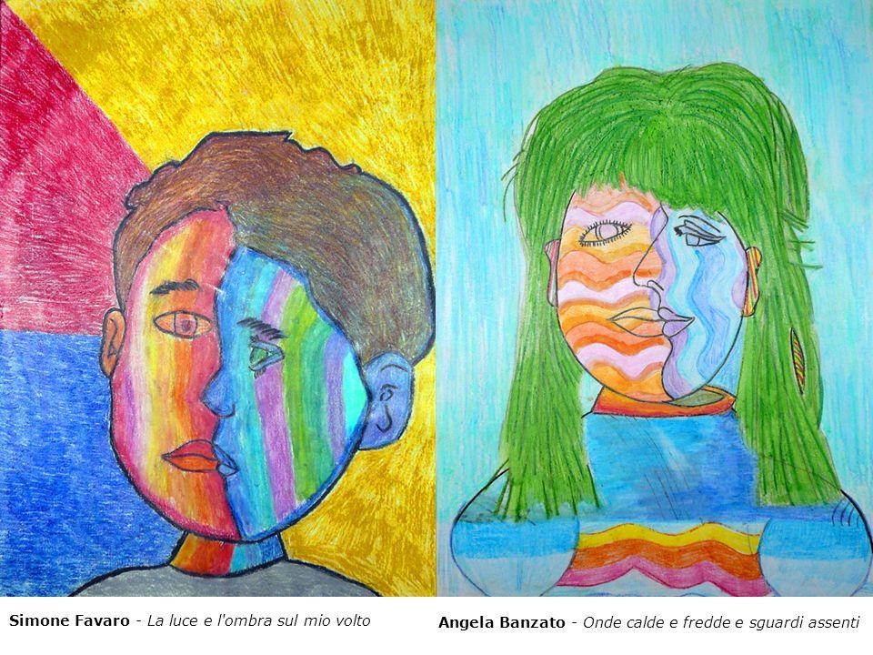 Angela Banzato - Onde calde e fredde e sguardi assenti Simone Favaro - La luce e l'ombra sul mio volto