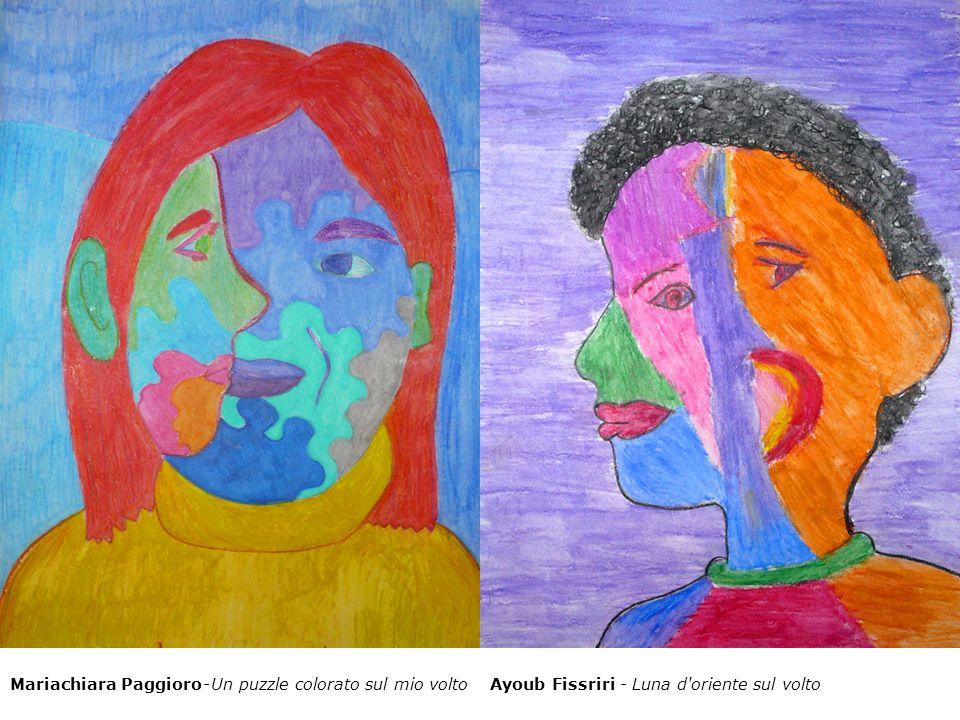 Mariachiara Paggioro - Un puzzle colorato sul mio voltoAyoub Fissriri - Luna d'oriente sul volto