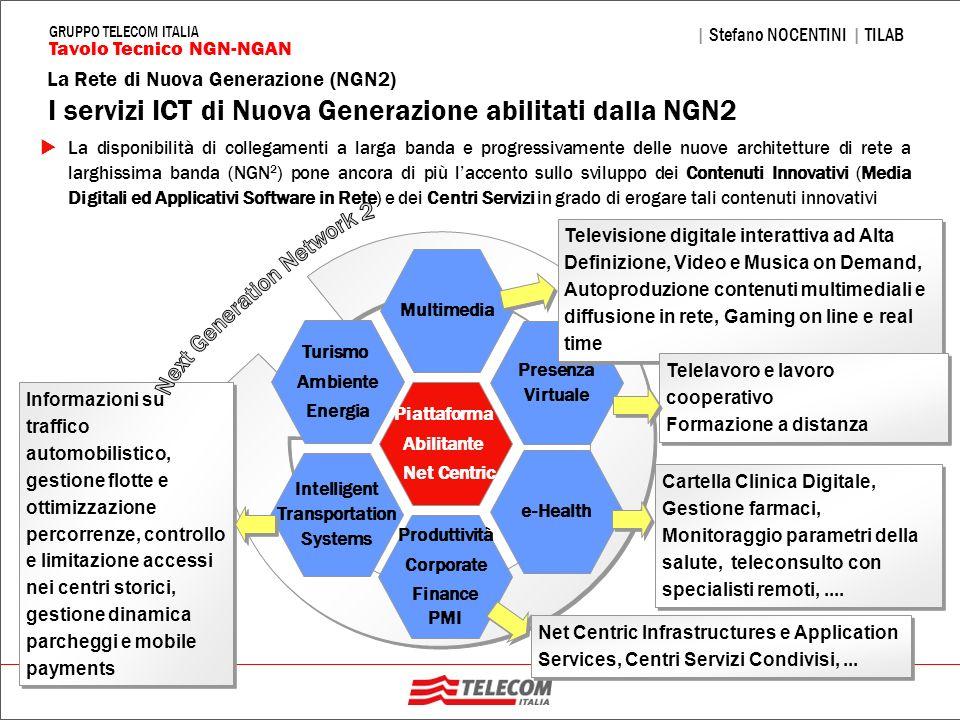 30 La Rete di Nuova Generazione (NGN2) | Stefano NOCENTINI | TILAB Tavolo Tecnico NGN-NGAN GRUPPO TELECOM ITALIA Intelligent Transportation Systems Pr