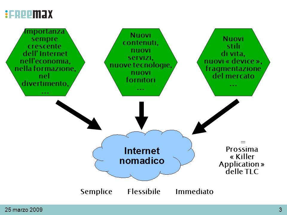 325 marzo 2009 Importanza sempre crescente dell Internet nell economia, nella formazione, nel divertimento,...