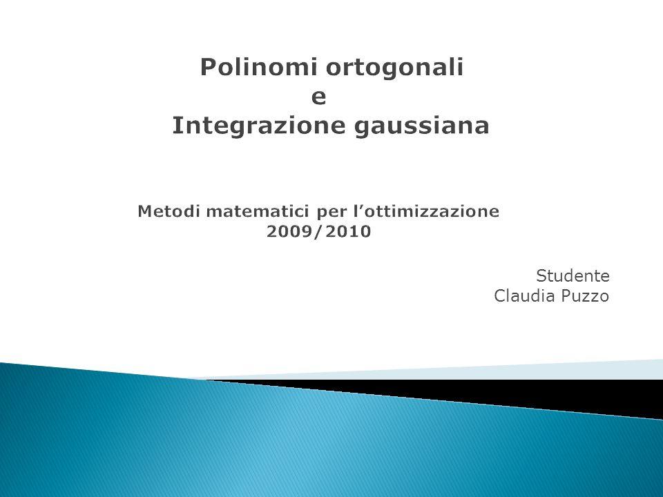 Studente Claudia Puzzo