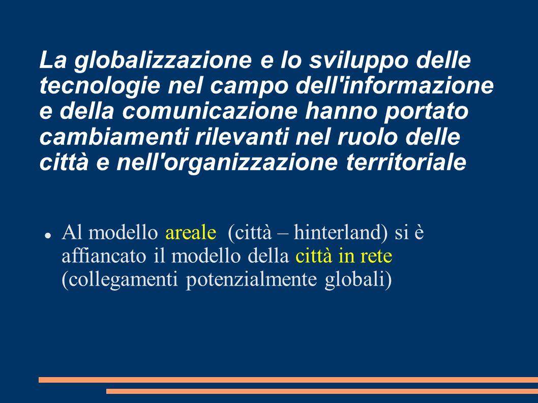 La globalizzazione e lo sviluppo delle tecnologie nel campo dell'informazione e della comunicazione hanno portato cambiamenti rilevanti nel ruolo dell