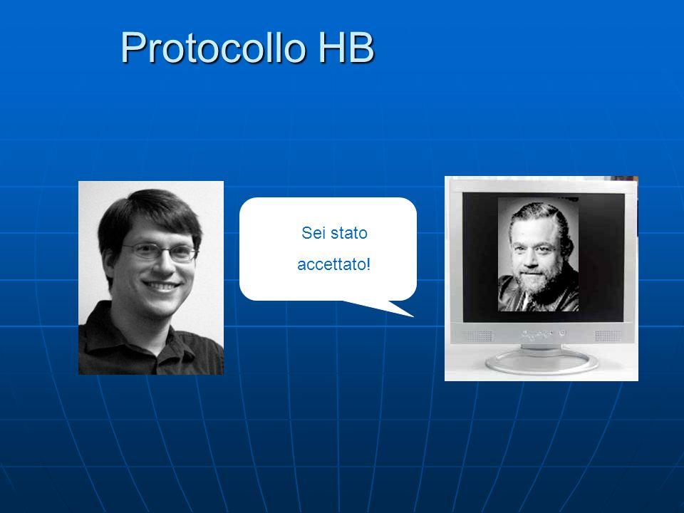 Protocollo HB Sei stato accettato!