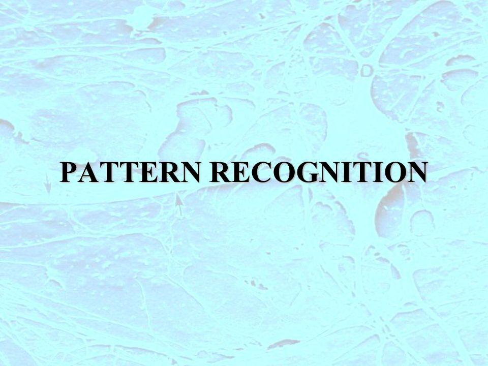 Lobiettivo del Pattern Recognition è quello di progettare un sistema (CLASSIFICATORE) che assegni automaticmente il valore di una misura alla classe corrispondente superfici di decisioneLo spazio degli ingressi è suddiviso in regioni mediante superfici di decisione PR-1 Superficie di decisione Classificazione senza errori (insiemi linearmente separabili) x1x1 x2x2 Superficie di decisione x1x1 x2x2 Classificazione senza errori (insiemi non linearmente separabili) x1x1 x2x2 Superficie di decisione Classificazione con errori (insiemi non linearmente separabili)
