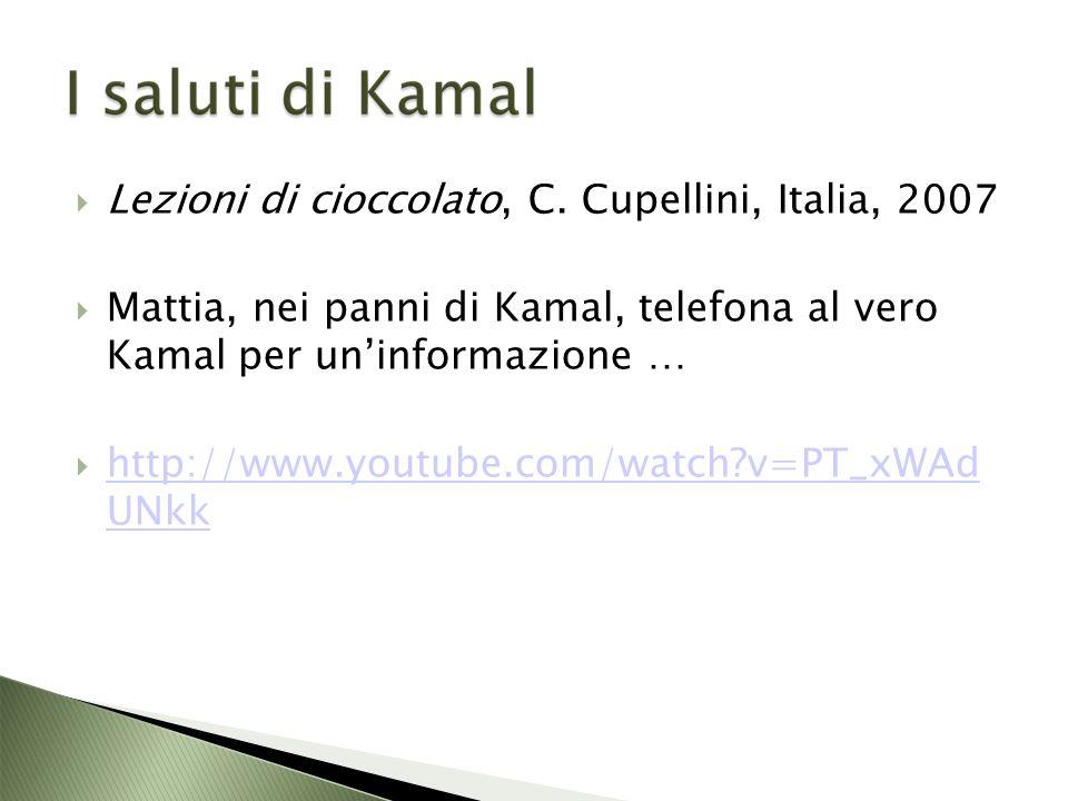 Lezioni di cioccolato, C.