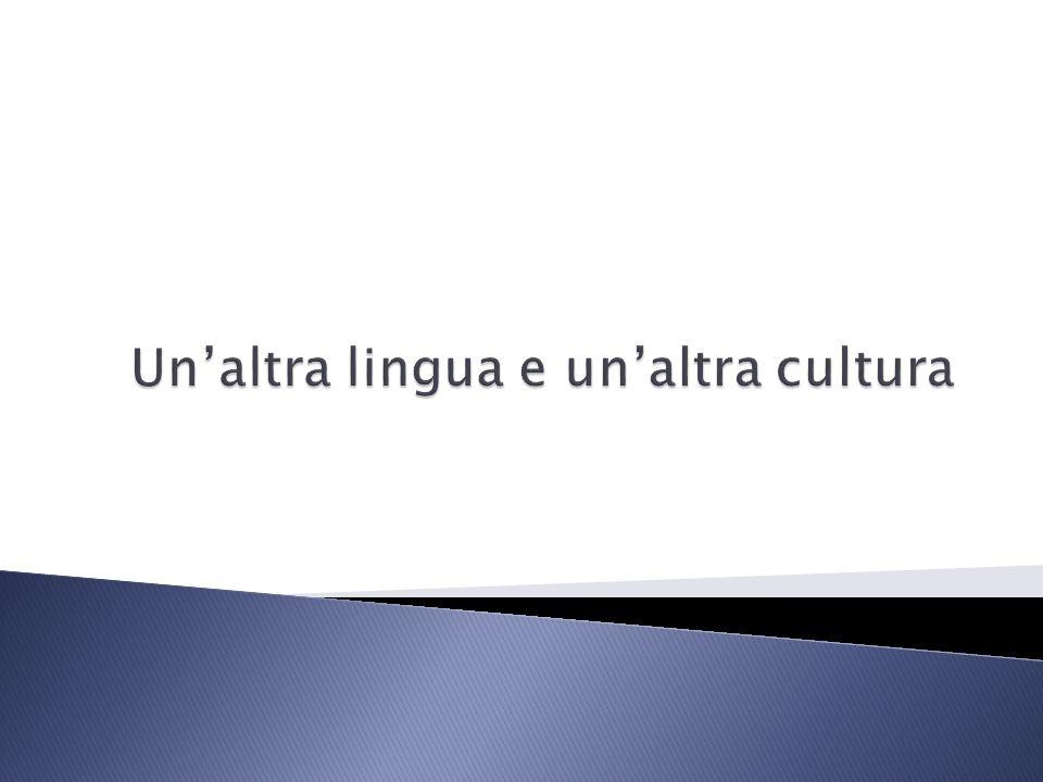 Che cosa vuol dire essere biculturali.