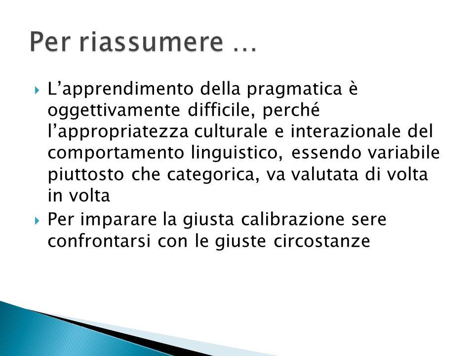Procedura frasale (accordo inter- sintagmatico): laccordo avviene fra sintagmi diversi.