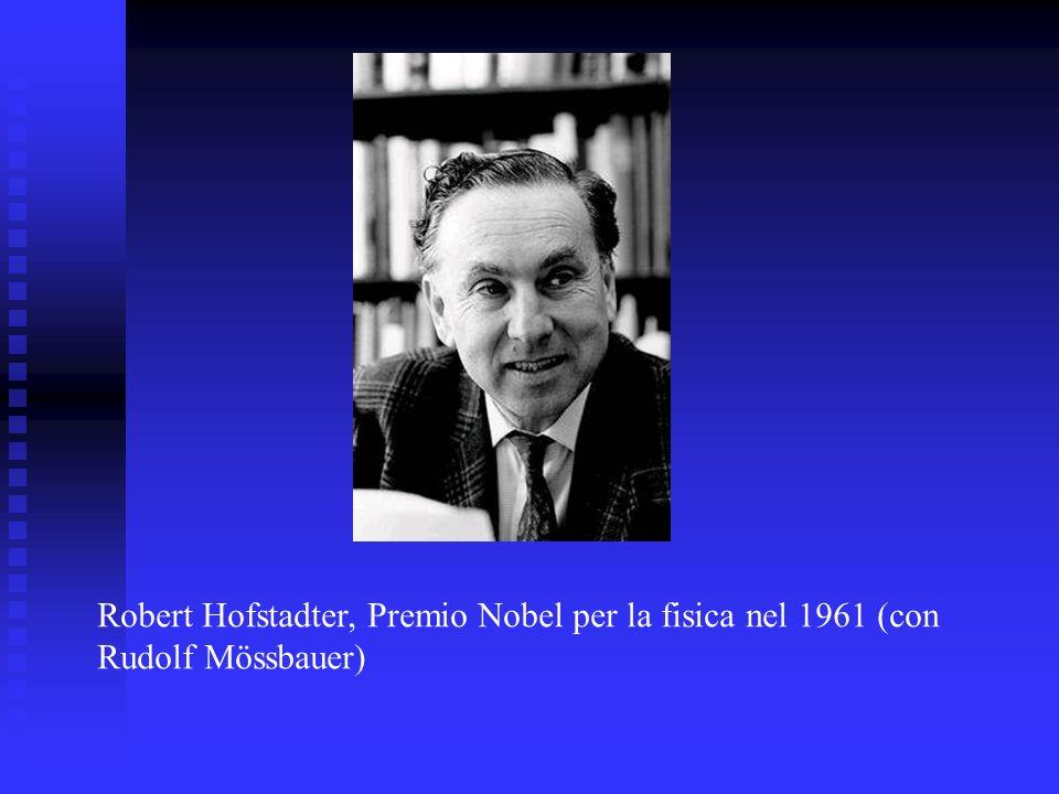 Robert Hofstadter, Premio Nobel per la fisica nel 1961 (con Rudolf Mössbauer)
