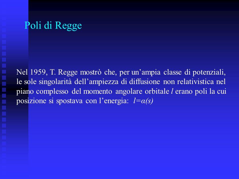 Poli di Regge Nel 1959, T.