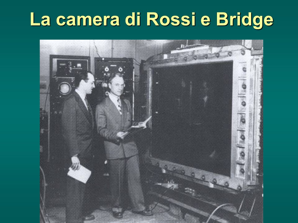La camera di Rossi e Bridge