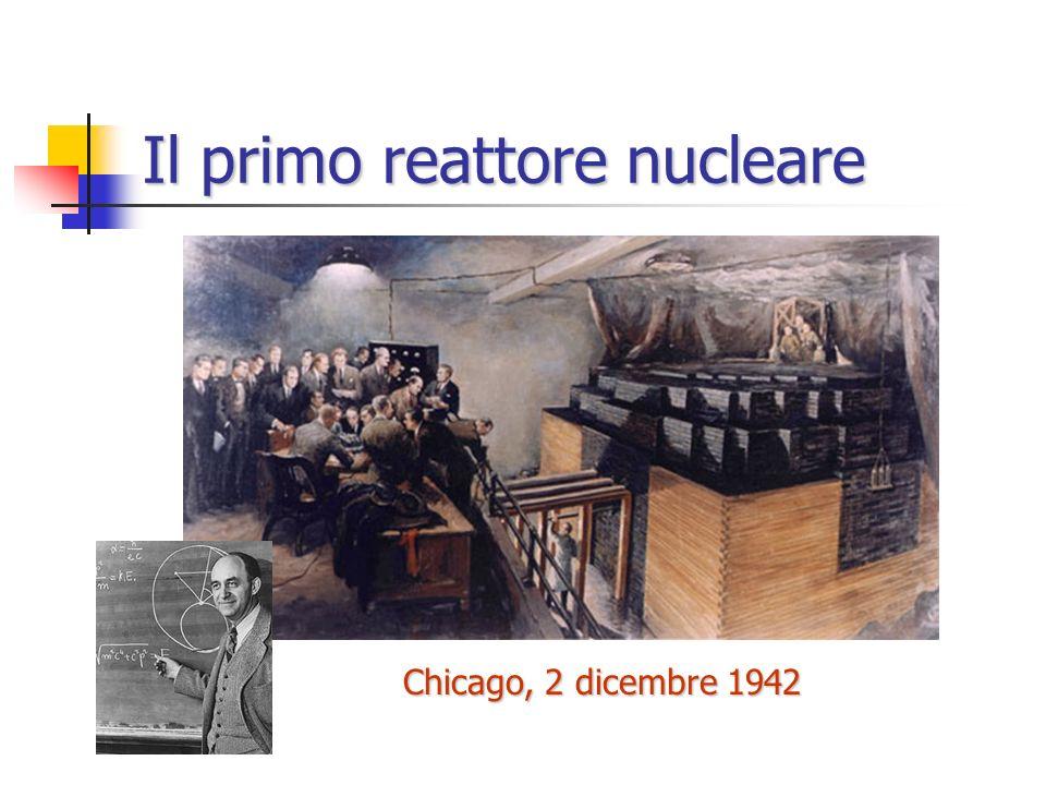 La costruzione della bomba (Metallurgical Laboratory, Chicago) Arthur Compton Enrico Fermi Progettazione della pila per la produzione di plutonio
