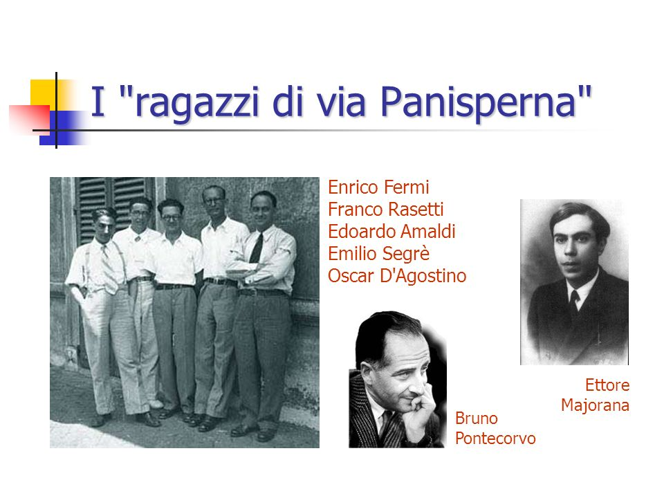 L'Istituto di Fisica di Roma Enrico Fermi