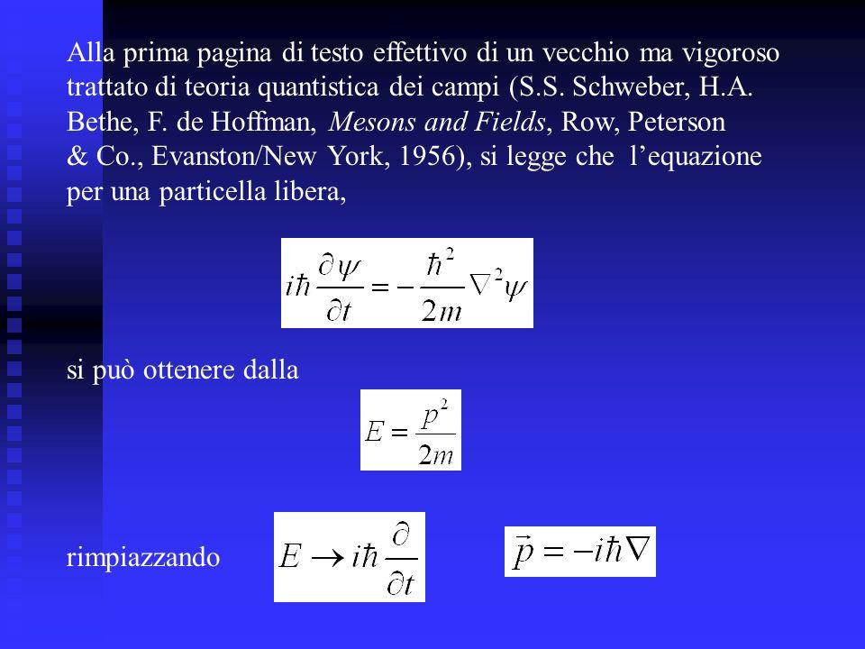 Lo spin Un operatore arbitrario F è una costante del moto se commuta con lhamiltoniana, cioè se: Il momento angolare orbitale non commuta con lhamiltoniana