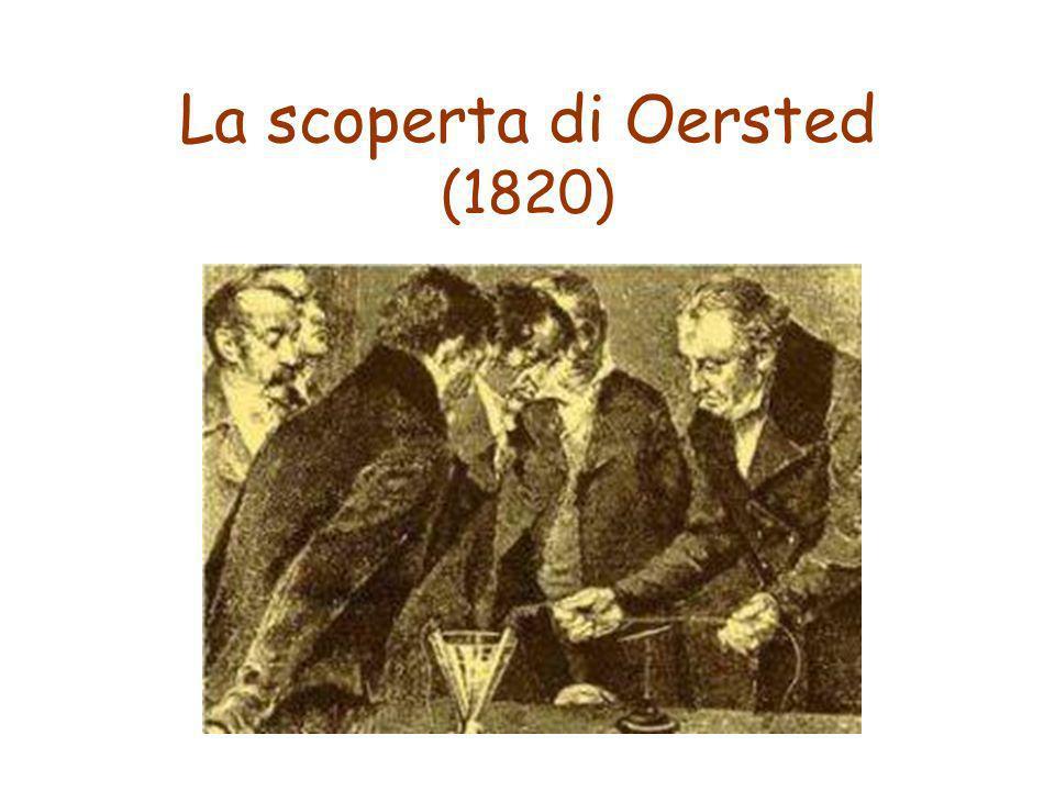 La scoperta di Oersted (1820)