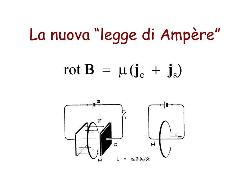 La nuova legge di Ampère rot j c j s