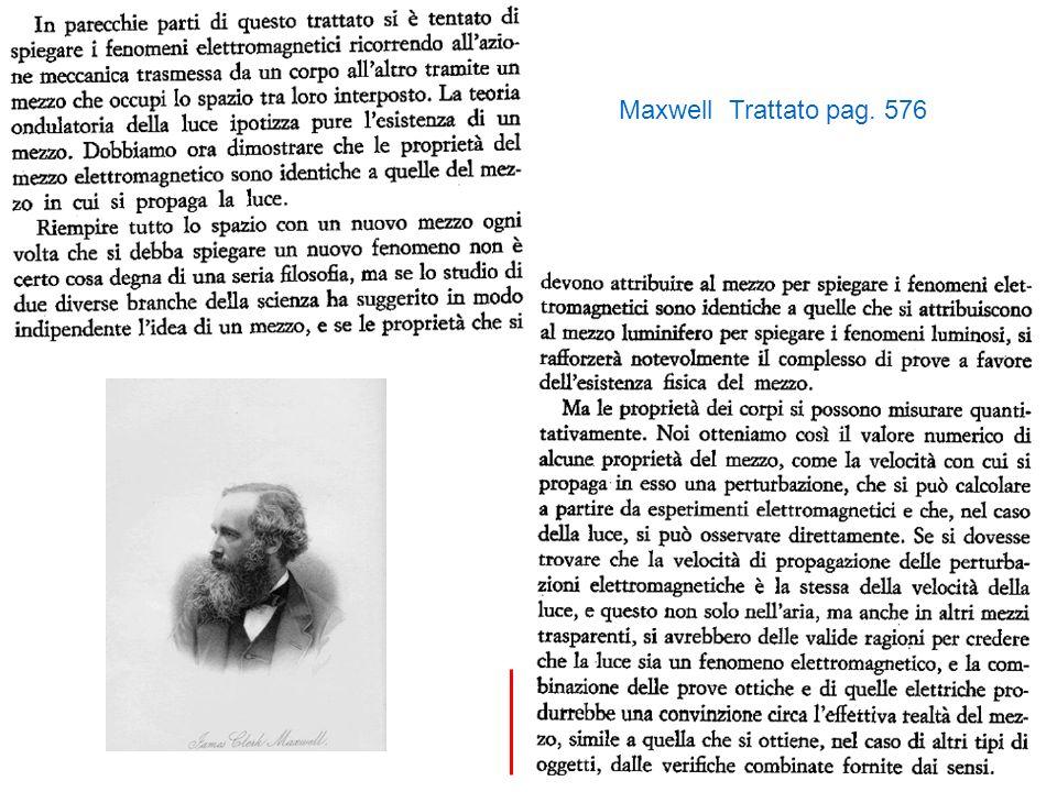 Maxwell Trattato pag. 576
