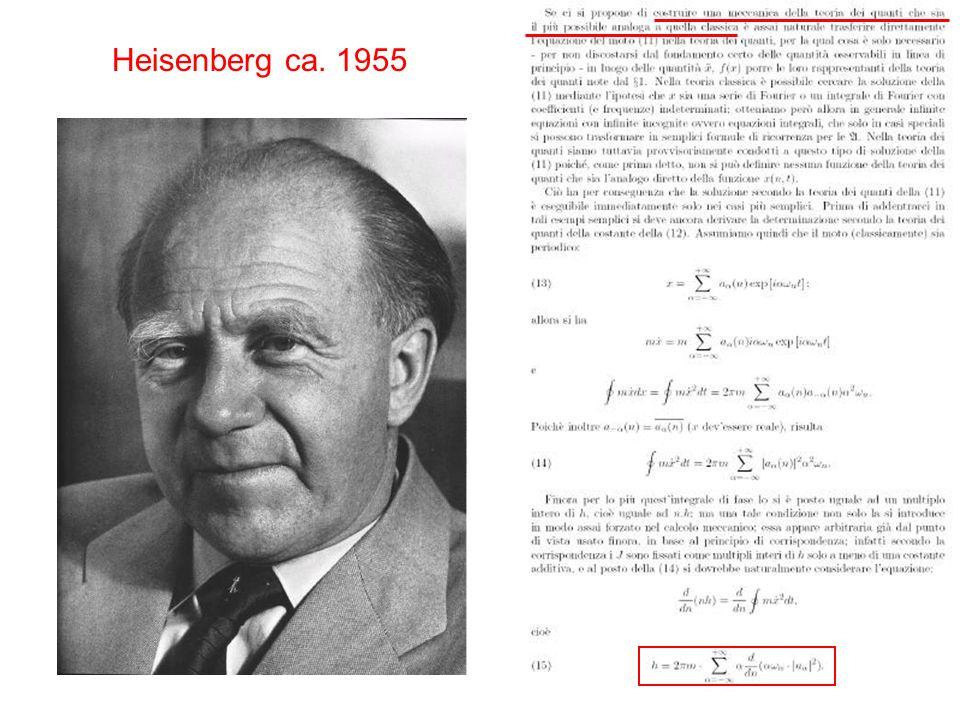 Heisenberg ca. 1955