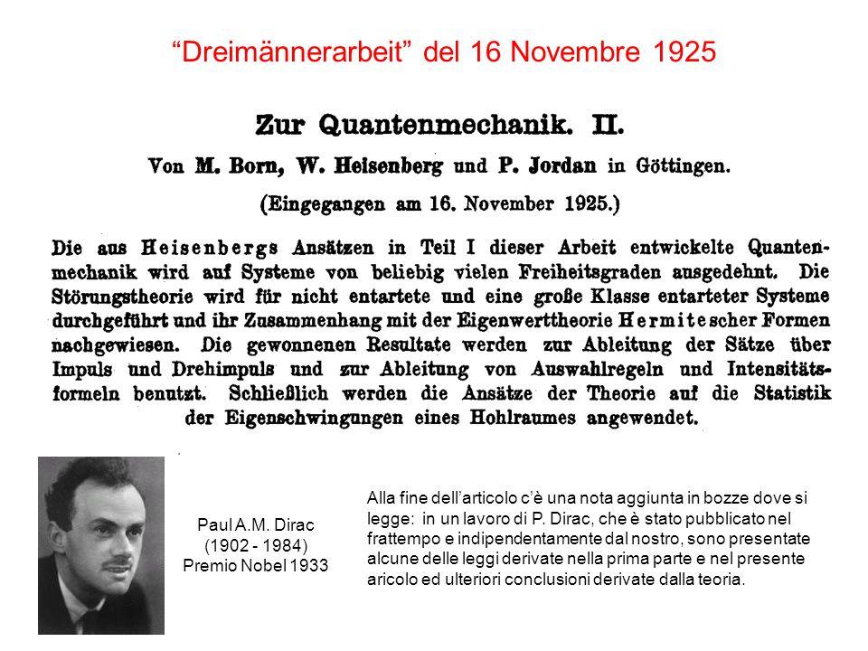 Dreimännerarbeit del 16 Novembre 1925 Paul A.M.