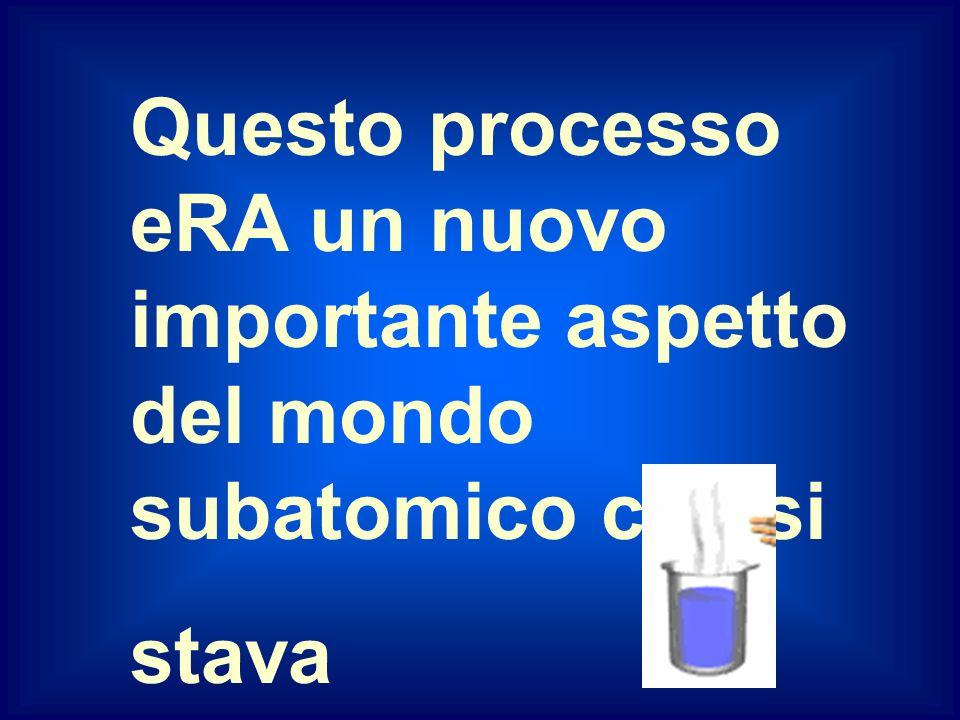 decadimento beta Una delle prime difficolta da affrontare eRA che, nel decadimento beta, vENIVA emesso un elettrone dal nucleo, nel quale precedenteme