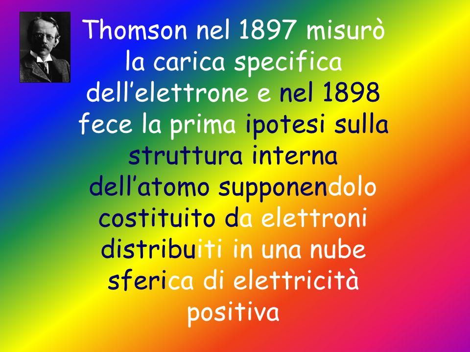 Tra tutti spiccano due nomi J.J.Thomson Ernest Rutherford