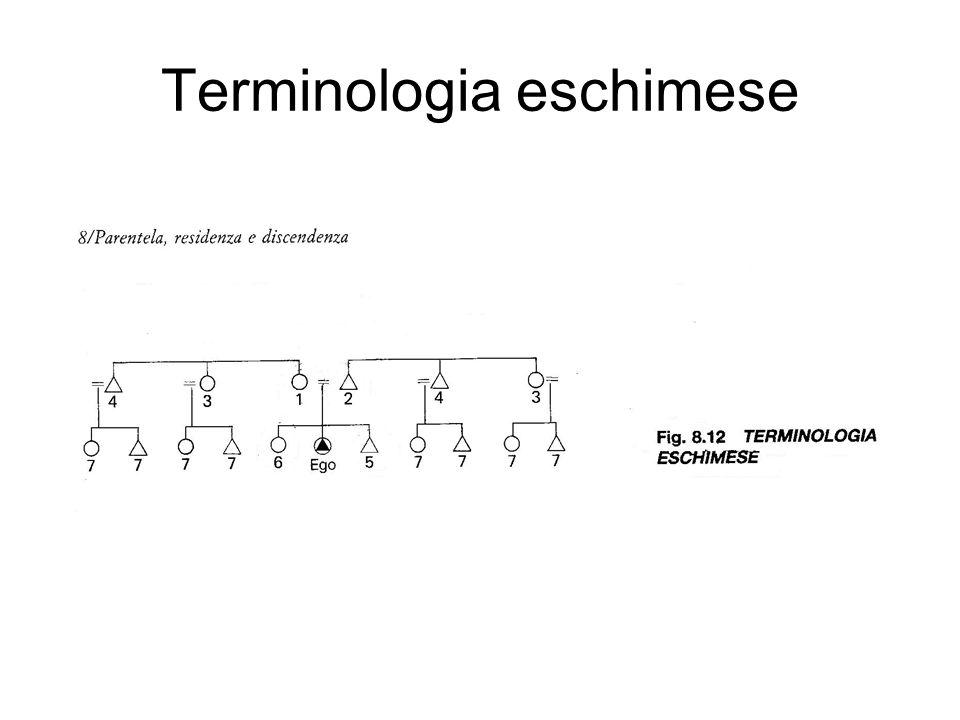 Terminologia eschimese