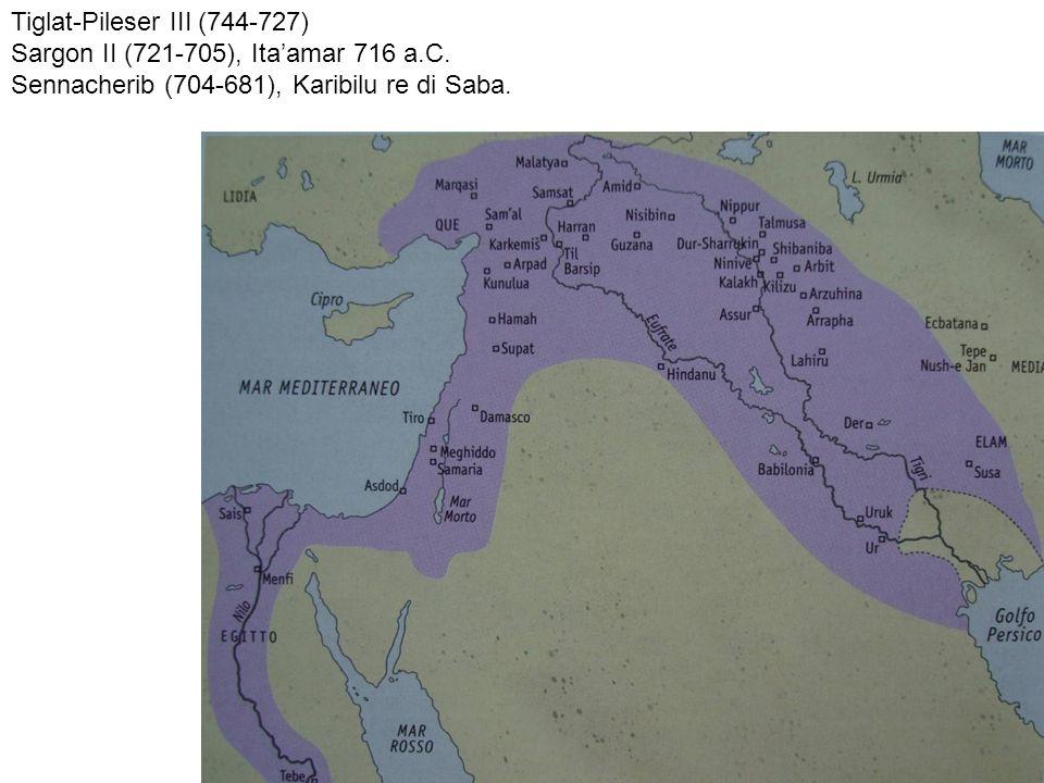 Salmanassar III - regina Gindibu.Battaglia di Qarqar (835 a.C.) Tiglath-Pileser III.