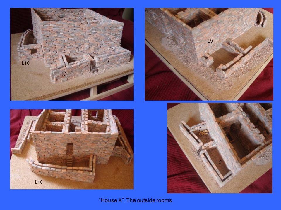 House A. The outside rooms. L10 L3 L5 L9 L10 L3 L5