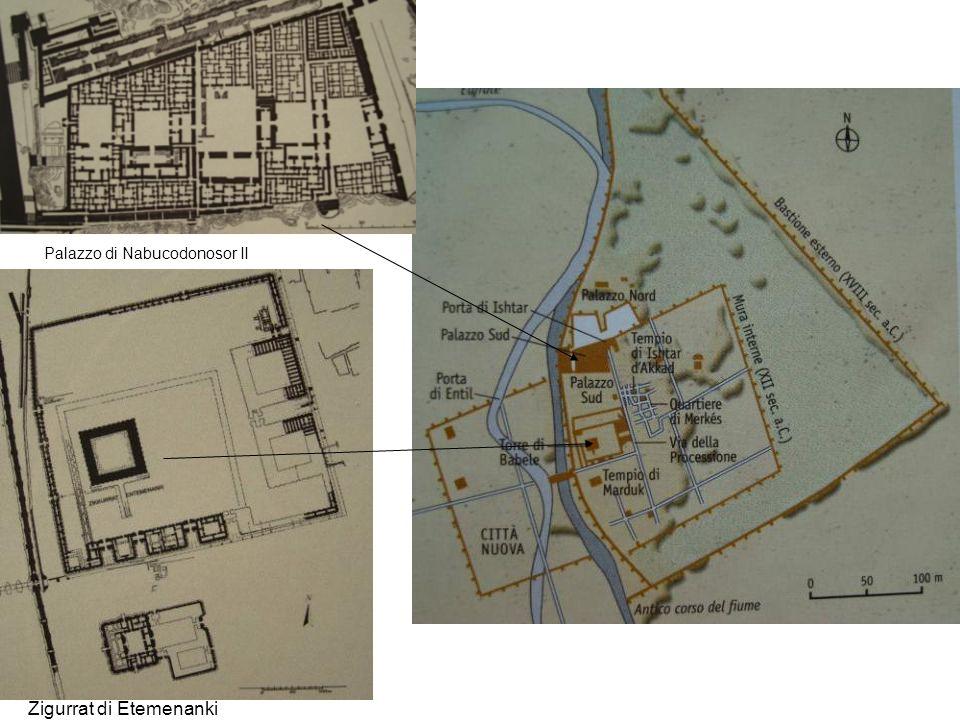 Palazzo di Nabucodonosor II Zigurrat di Etemenanki