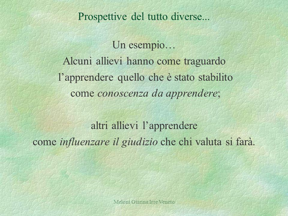 Meloni Gianna Irre Veneto Prospettive del tutto diverse...