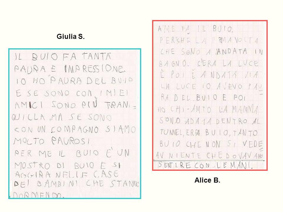 Giulia S. Alice B.