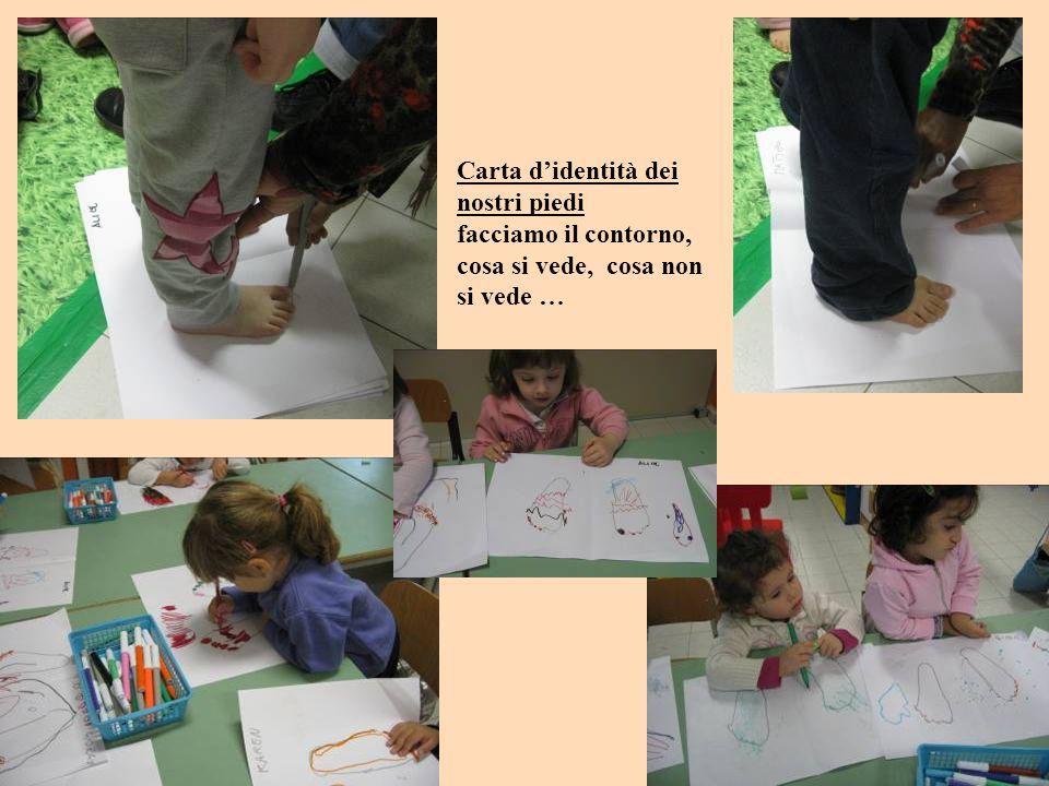 Evelyn: le dita con le unghie sono 3 … 4 Eleonora: i miei piedi con la tinta sulle unghie Pietro: ho colorato i miei piedi … sono bianchini