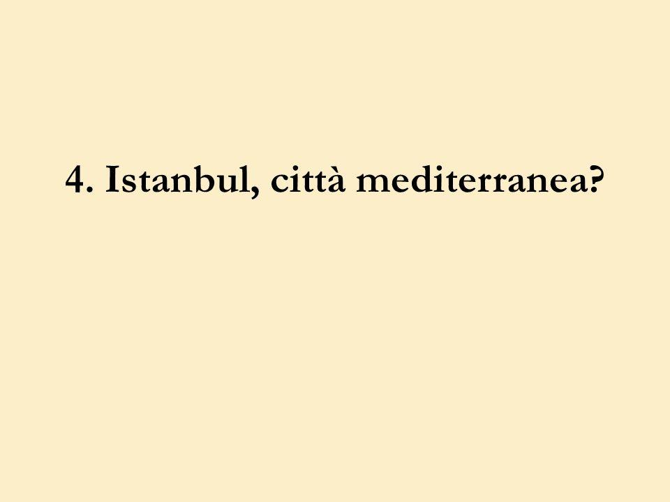 4. Istanbul, città mediterranea?