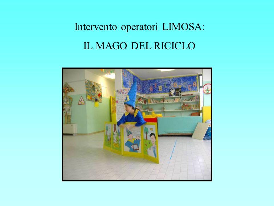 Intervento operatori LIMOSA: IL MAGO DEL RICICLO