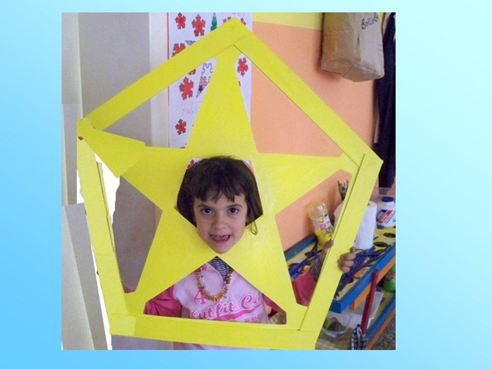 Nel disegno si trova una stella a cinque punte.