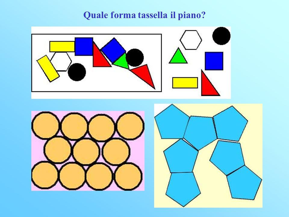 Quale forma tassella il piano?