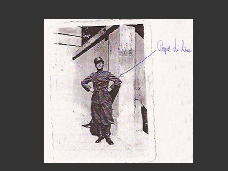 Suocero di Lia Mio suocero è stato preso da soldato e portato in un campo di prigionia, è riuscito a scappare, è tornato a casa a piedi, nel 1943.