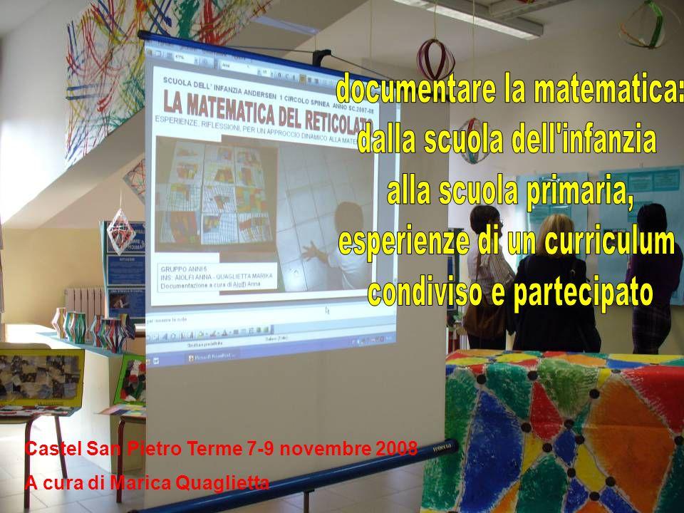 Castel San Pietro Terme 7-9 novembre 2008 A cura di Marica Quaglietta