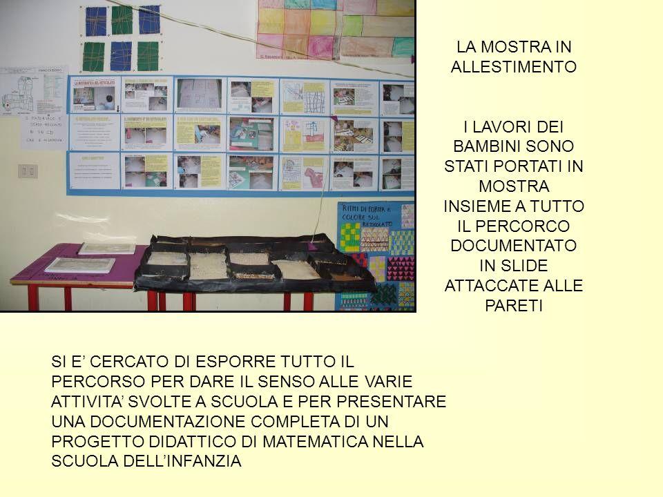 INSEGNANTI PROVENIENTI DA DIVERSE REALTA SCOLASTICHE DI TUTTA ITALIA E DI DIVERSI ORDINI DI SCUOLA OSSSERVANO E COMMENTANO I LAVORI