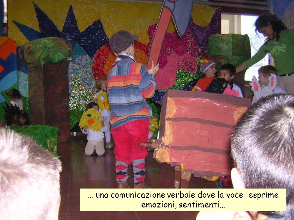 … una comunicazione verbale dove la voce esprime emozioni, sentimenti…