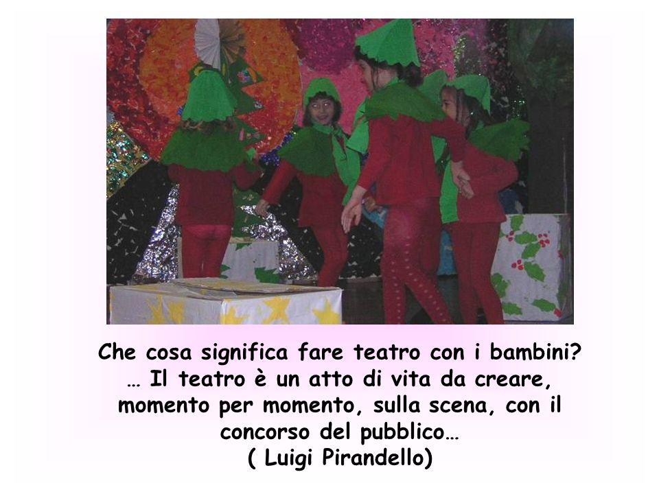 Il teatro non è solo spettacolo ma è una forma di espressione e di comunicazione