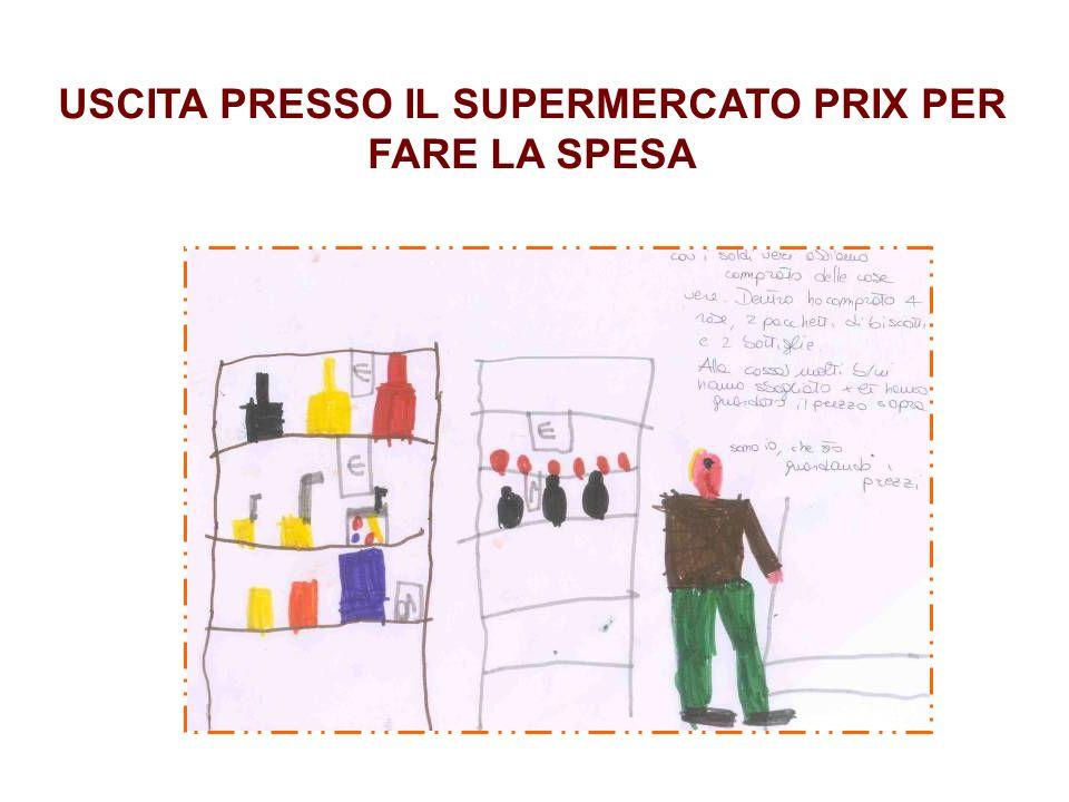 USCITA PRESSO IL SUPERMERCATO PRIX PER FARE LA SPESA