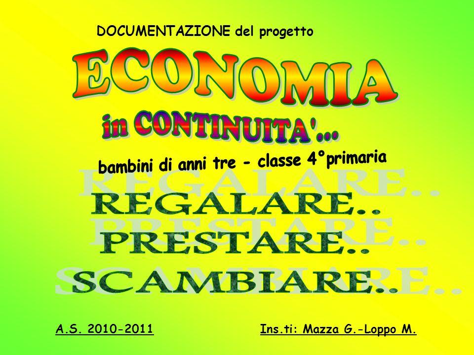 DOCUMENTAZIONE del progetto A.S. 2010-2011Ins.ti: Mazza G.-Loppo M.