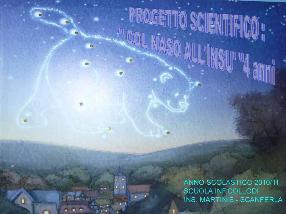 ANNO SCOLASTICO 2010/11 SCUOLA INF.COLLODI INS. MARTINIS - SCANFERLA