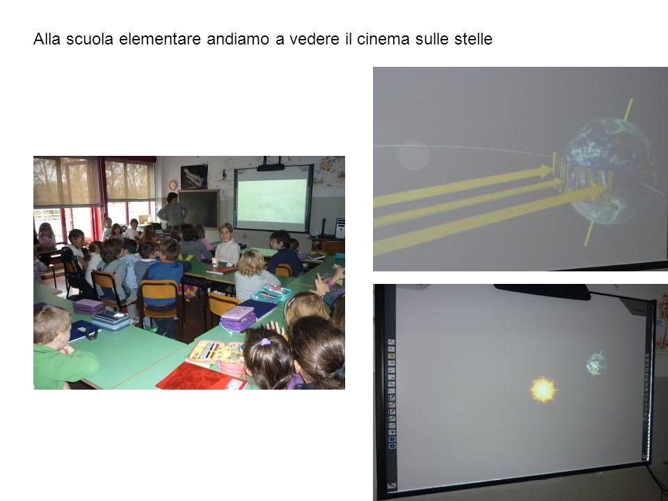 Alla scuola elementare andiamo a vedere il cinema sulle stelle